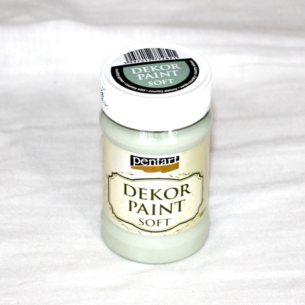 Decor paint soft, 100 ml - country zelená