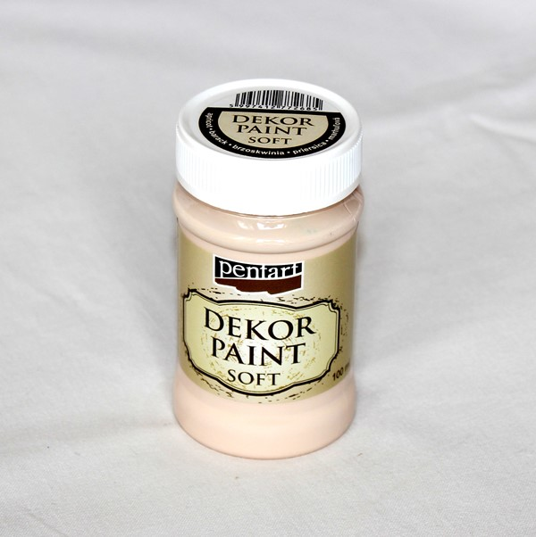 Decor paint soft, 100 ml - marhuľová